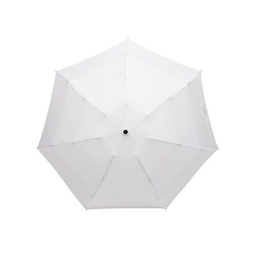 SHORTY alumínium összecsukható esernyő, fehér