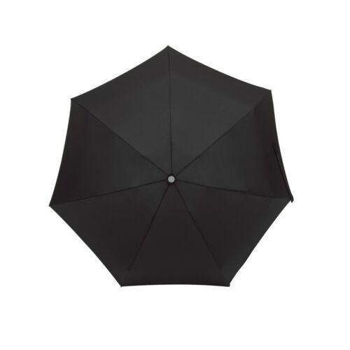 SHORTY alumínium összecsukható esernyő, fekete