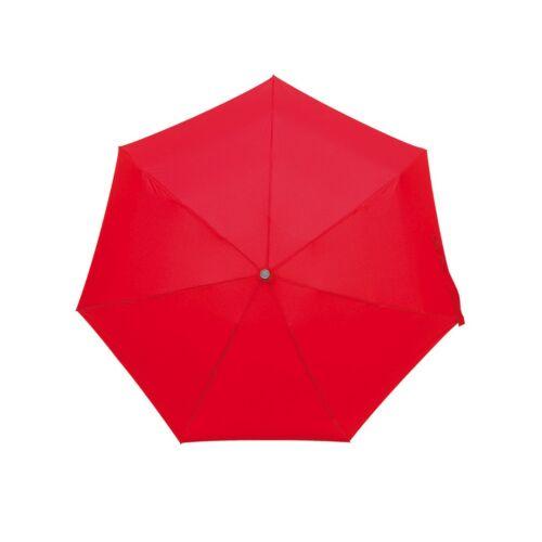 SHORTY alumínium összecsukható esernyő, vörös
