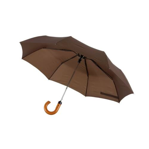 LORD automata összecsukható, férfi esernyő, sötétbarna