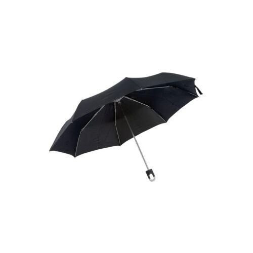TWIST összecsukható ernyő, fekete