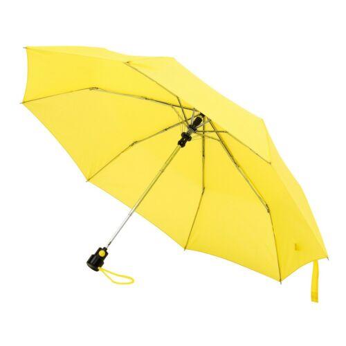 PRIMA automata összecsukható esernyő, sárga