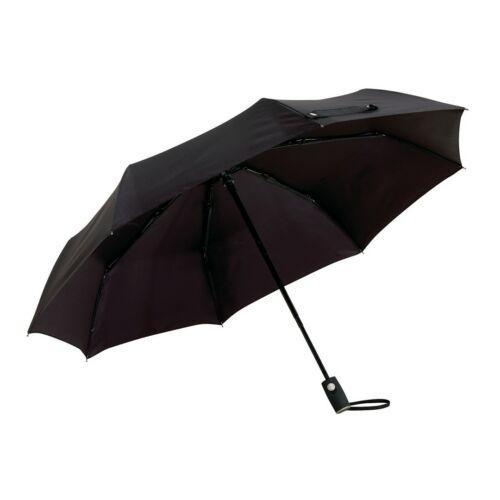 ORIANA automata összecsukható szélálló esernyő, fekete