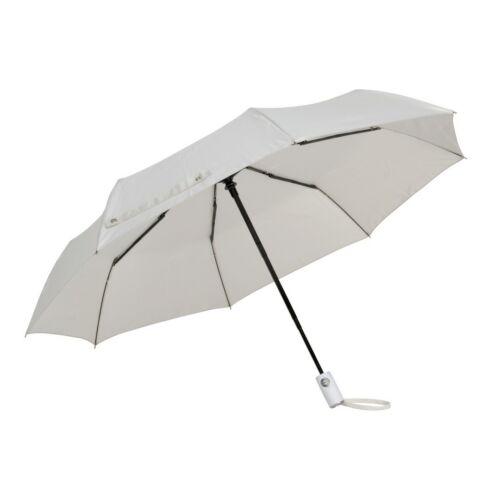 ORIANA automata összecsukható szélálló esernyő, világosszürke