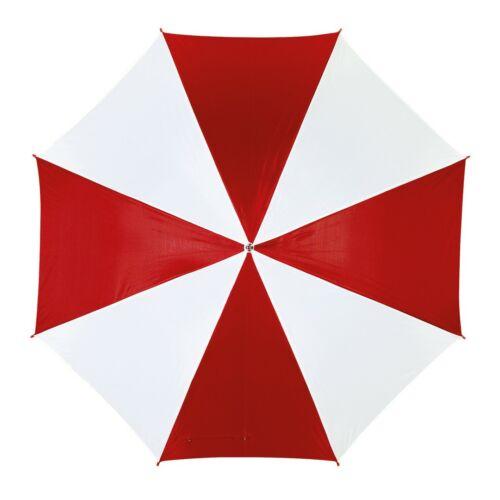 DISCO & DANCE automata esernyő, vörös, fehér