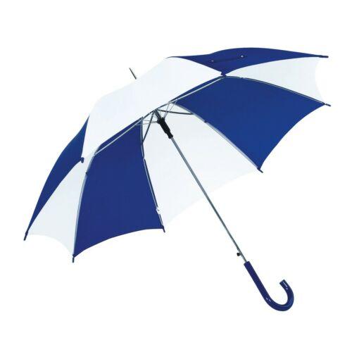 DISCO & DANCE automata esernyő, kék, fehér