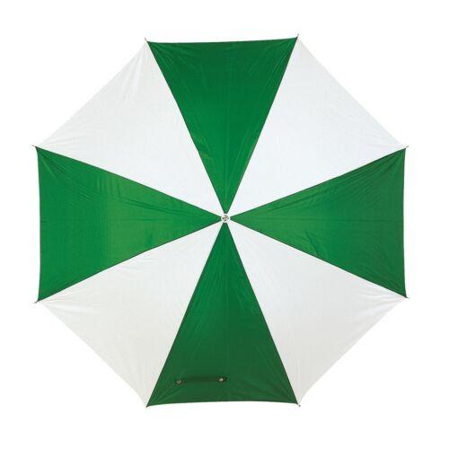DISCO & DANCE automata esernyő, zöld, fehér
