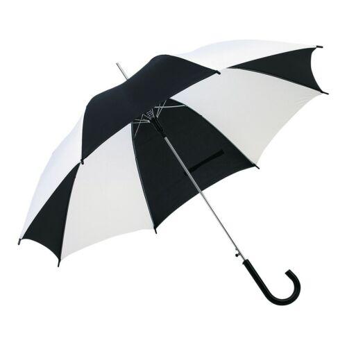 DISCO & DANCE automata esernyő, fekete, fehér