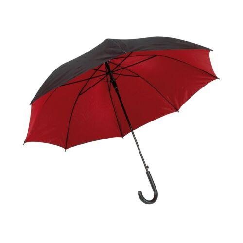 DOUBLY automata esernyő, fekete, vörös