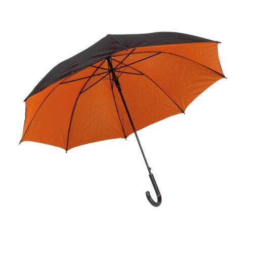 DOUBLY automata esernyő, fekete, narancssárga