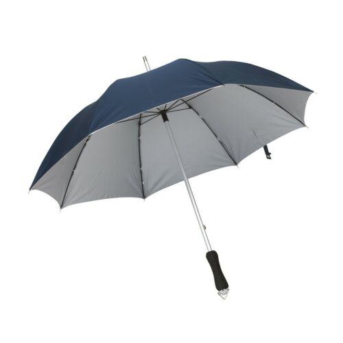 JOKER alumínium üveggyapot esernyő, tengerészkék, ezüst