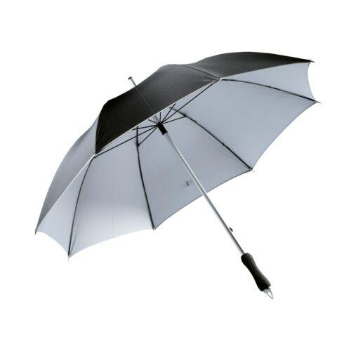 JOKER alumínium üveggyapot esernyő, fekete, ezüst
