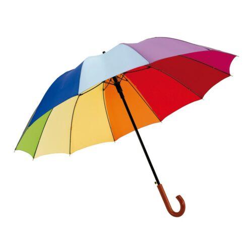 RAINBOW LIGHT automata golf esernyő, szívárvány