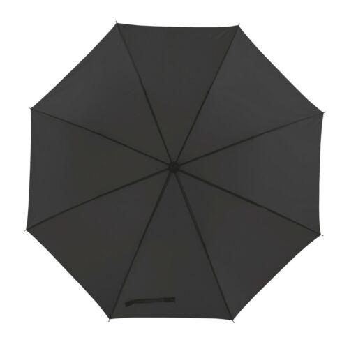 MOBILE golf esernyő tokkal, fekete