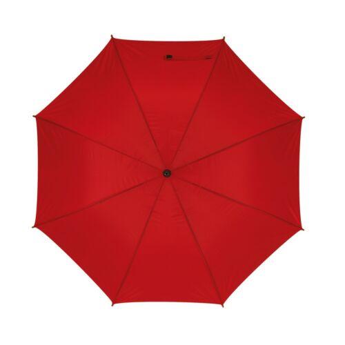 MOBILE golf esernyő tokkal, vörös