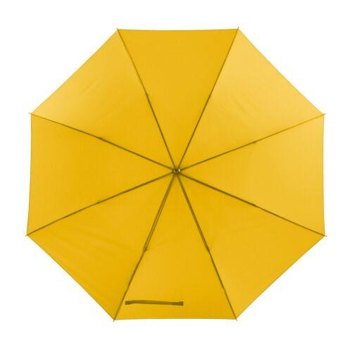MOBILE golf esernyő tokkal, sárga