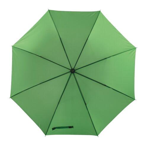 MOBILE golf esernyő tokkal, világoszöld