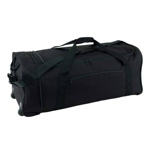 HEX összecsukható gurulós táska, fekete
