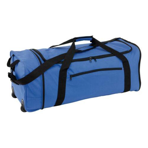 HEX összecsukható gurulós táska, kék, fekete