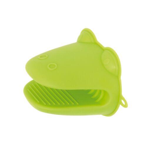 CROCO szilikon kesztyű, zöld