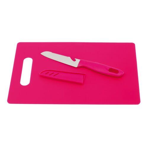 SUNNY vágódeszka késsel, rózsaszin