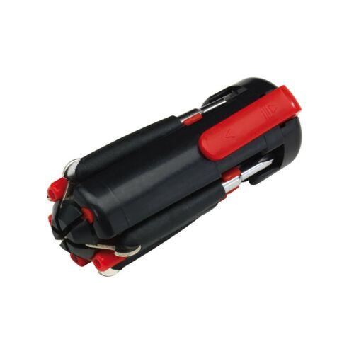 6IN1 csavarhúzó szett, fekete, vörös