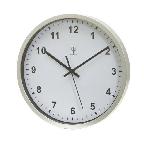 NEPTUNE rádióvezérelt óra, ezüst, fehér