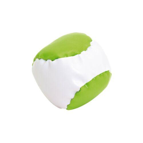 JUGGLE stresszoldó labda, fehér, világoszöld