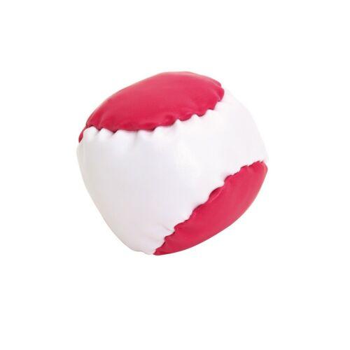 JUGGLE stresszoldó labda, fehér, magenta