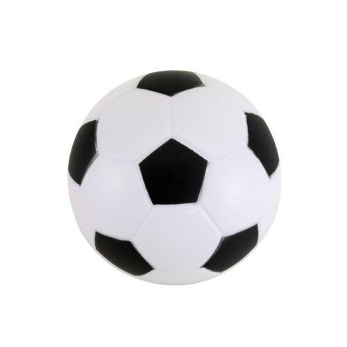 KICK OFF focilabda alakú stressz oldó labda, fekete, fehér