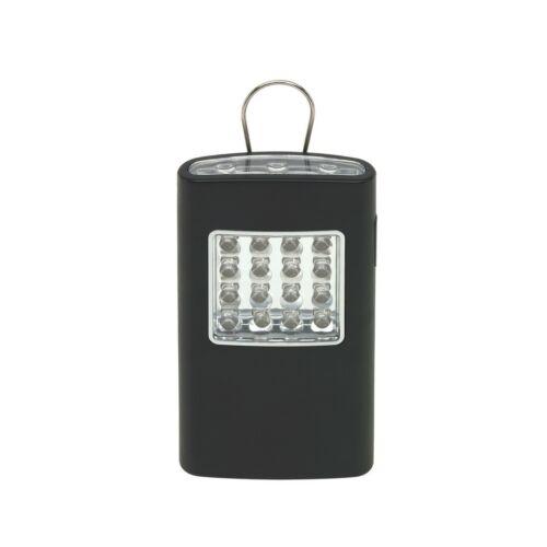 BRIGHT HELPER LED elemlámpa, fekete