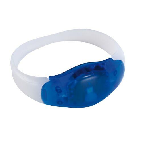 FESTIVAL világító csuklópánt, kék, átlátszó