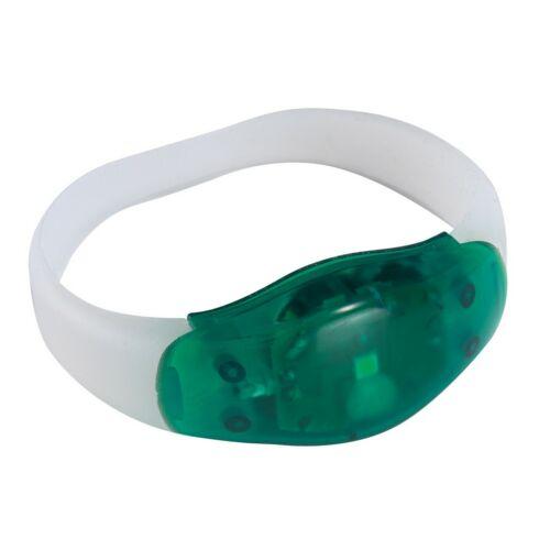 FESTIVAL világító csuklópánt, zöld, átlátszó