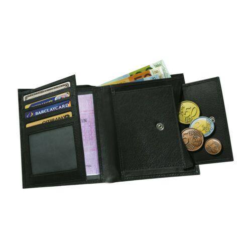 MESSINA pénztárca, fekete