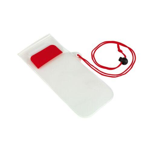 SMART SPLASH cseppálló mobiltelefon tartó, vörös