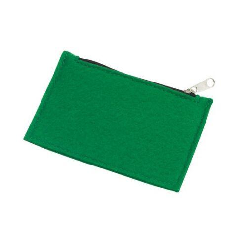 COLLECTOR filc aprópénz tartó, zöld