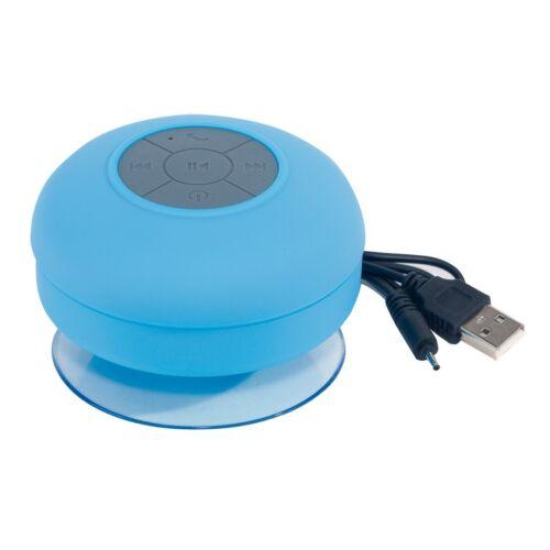 WAKE UP bluetooth zuhany hangszóró, kék, szürke