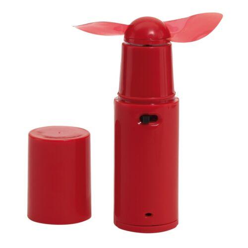NOTOS kézi ventilátor, vörös