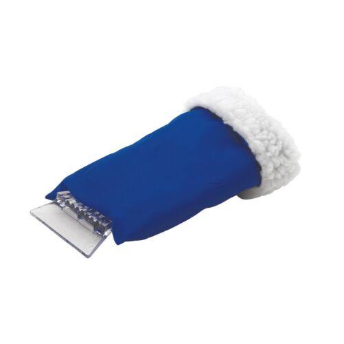 CLEAR SIGHT jégkaparó meleg kesztyűvel, kék