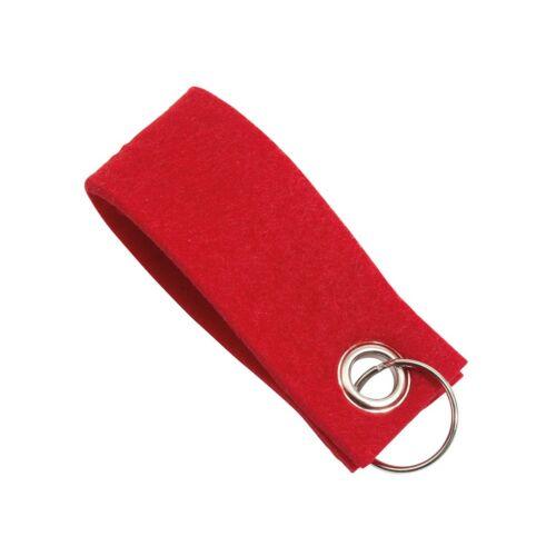 FELT kulcstartó, vörös