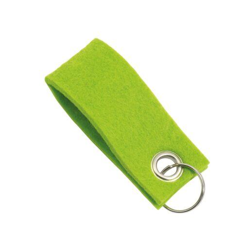 FELT kulcstartó, zöld