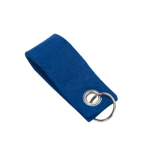 FELT kulcstartó, kék