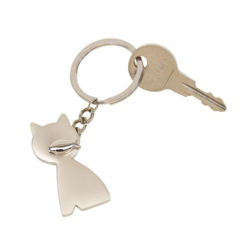 CAT kulcstartó, ezüst