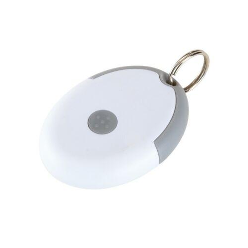 FLIRT kulcstartó gumióvszerrel, szürke, fehér