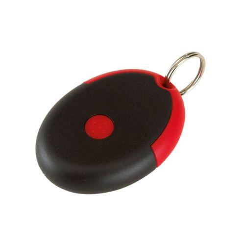 FLIRT kulcstartó gumióvszerrel, piros, fekete
