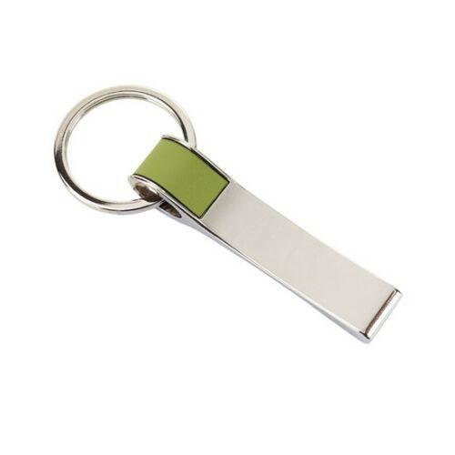 HANG ON kulcstartó, zöld, ezüst