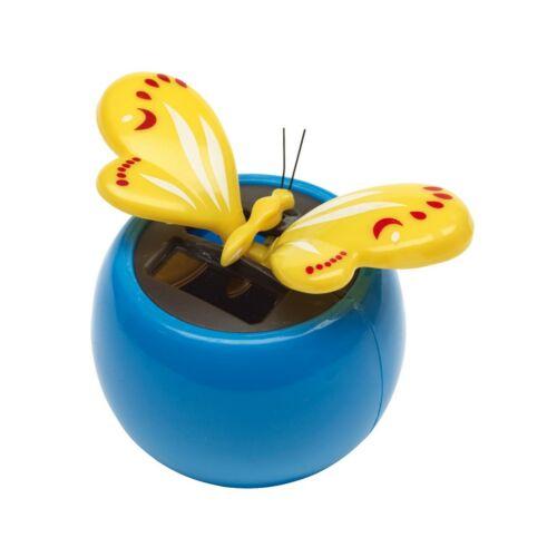 BRIMSTONE napelemes lepke, sárga, kék