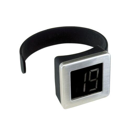 BOLERO digitális borhőmérő, ezüst