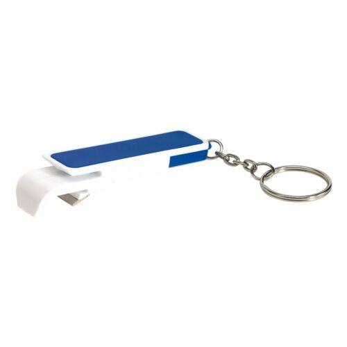 DOUBLE OPEN kulcstartó, fehér, kék