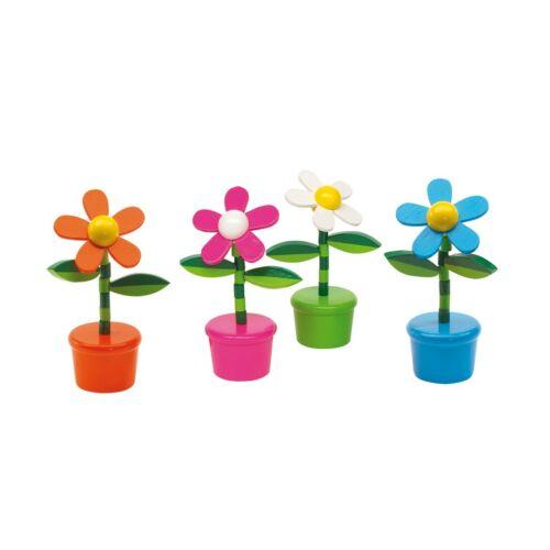 FLOWER POWER retro játék, fehér, pink, kék, narancs